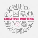creative writing round concept line vector 21381628